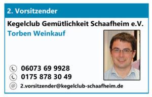 2. Vorsitzender des KC Gem. Schaafheim