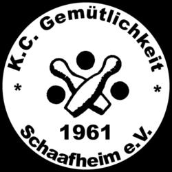 Vereinslogo Kegelclub Gem. Schaafheim