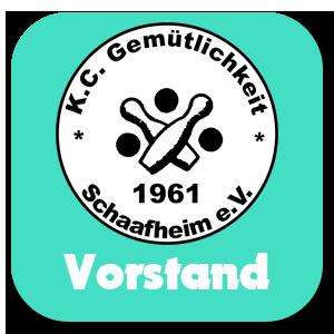 Kegelclub Gemütlichkeit Schaafheim Vorstand