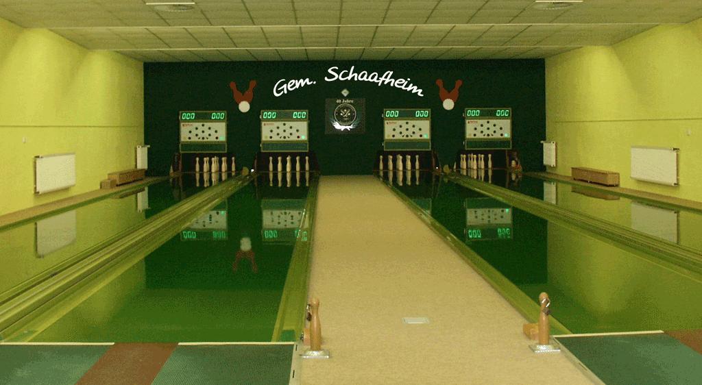 Kegelbahn Falkenhof Schaafheim