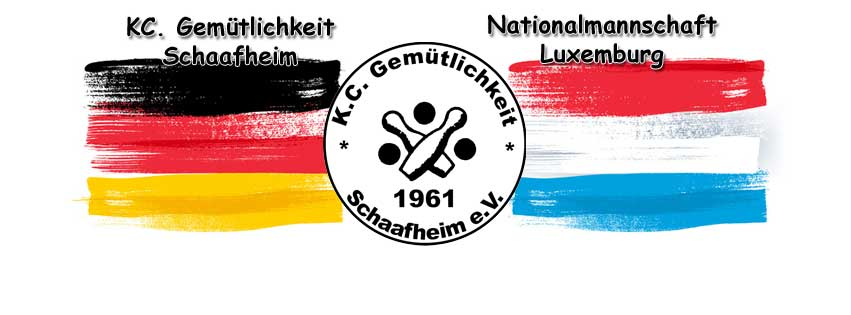 Freundschaftsspiel Luxemburg