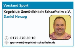 Vorstand Sport Daniel HErzog