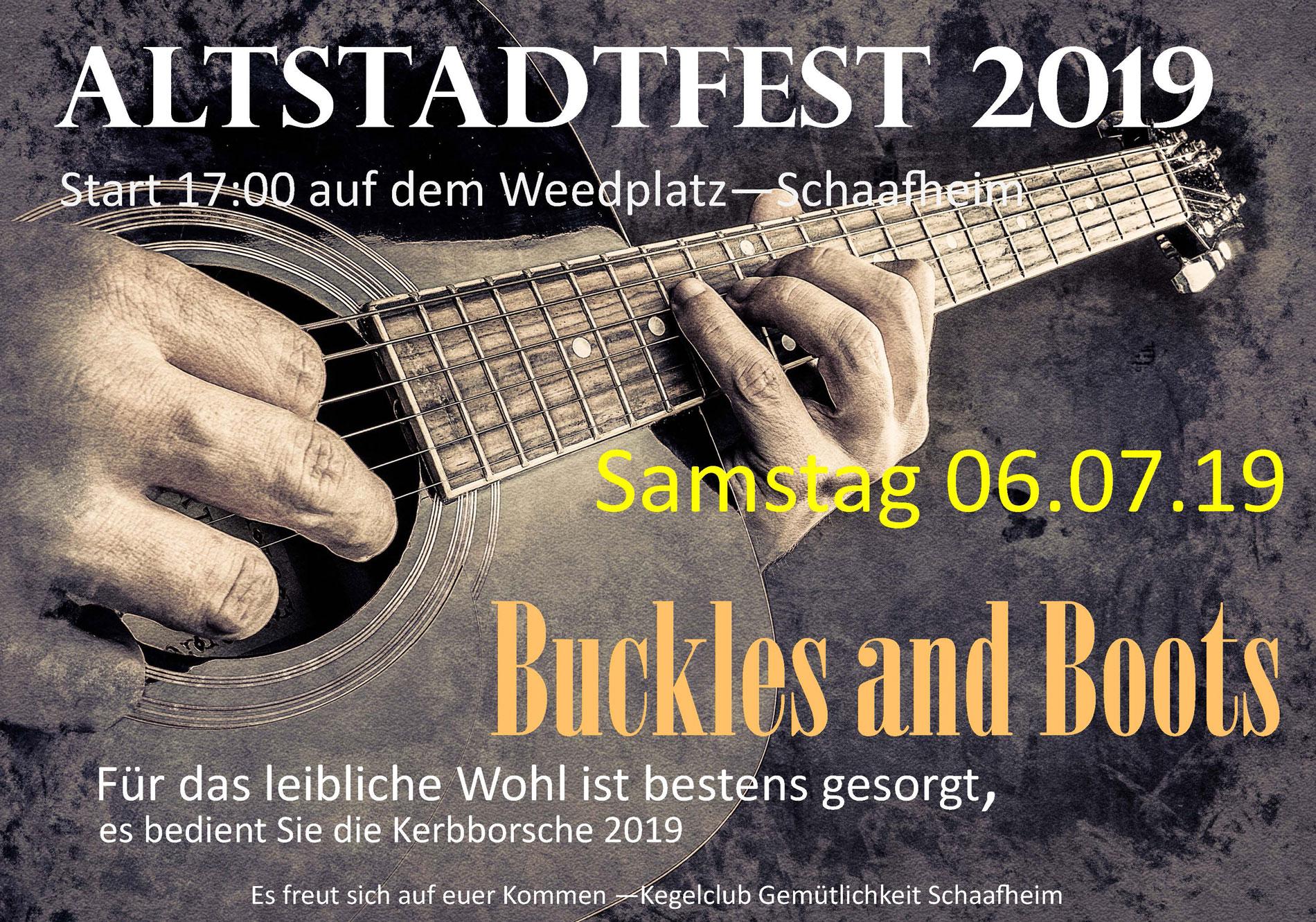 Schaafheimer Altstadtfest 2019