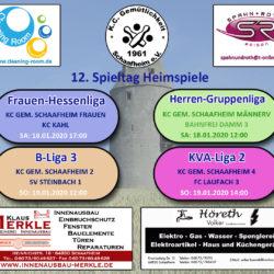 Am Wochenende den 18./19.. Januar 2020 begrüßen wir die Kegelfreunde von KC Kahl, Bahnfrei Damm, SV Steinbach und FC Laufach im Restaurant Zauberwürfel auf unseren Kegelbahnen.