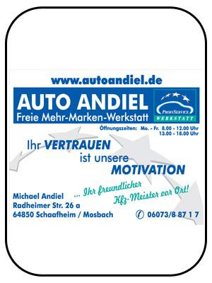 Auto Andiel in Schaafheim/Radheim